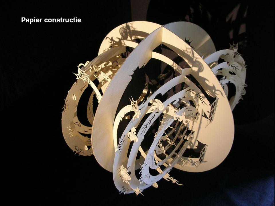 Papier constructie