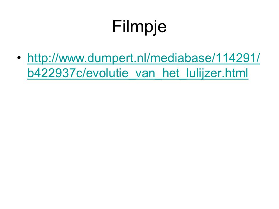 Filmpje http://www.dumpert.nl/mediabase/114291/b422937c/evolutie_van_het_lulijzer.html