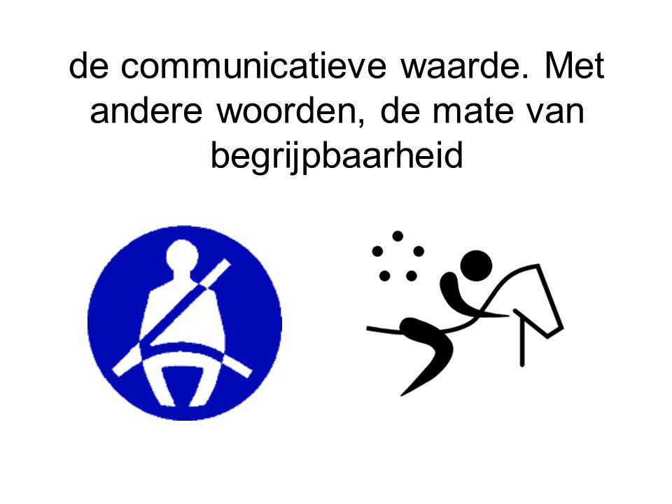 de communicatieve waarde