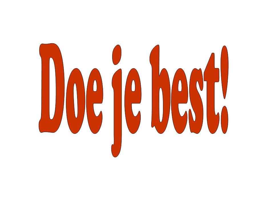Doe je best!