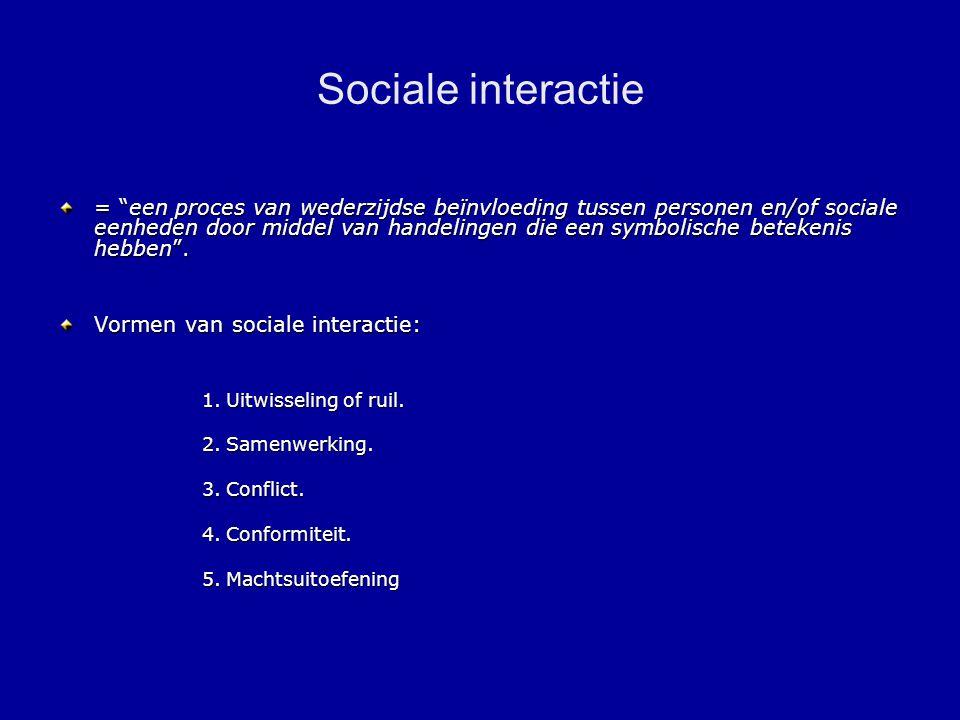 Sociale interactie