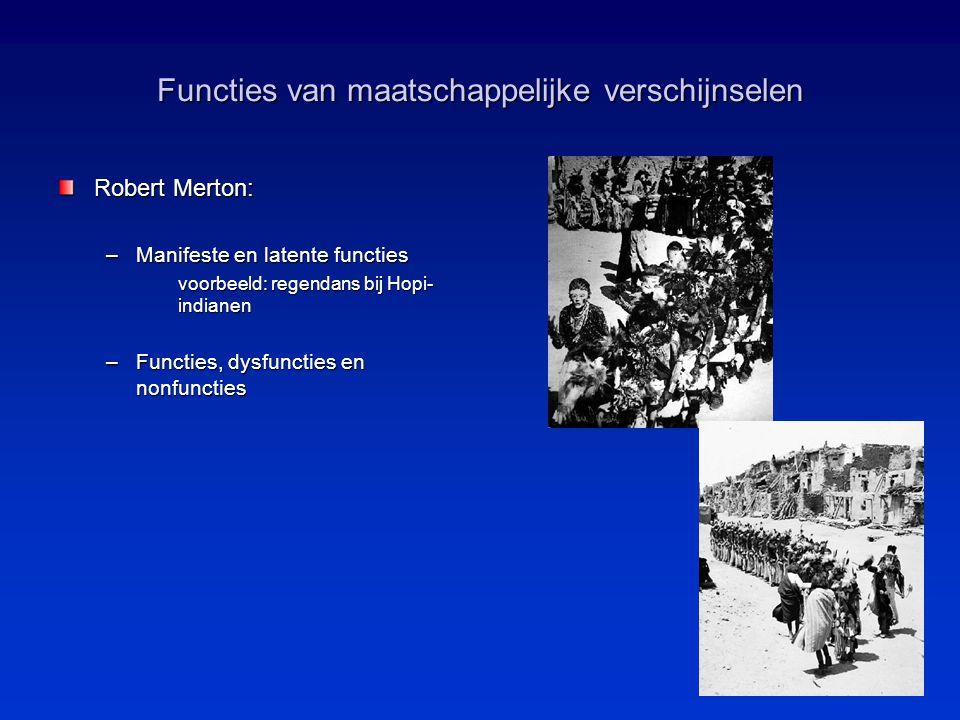 Functies van maatschappelijke verschijnselen