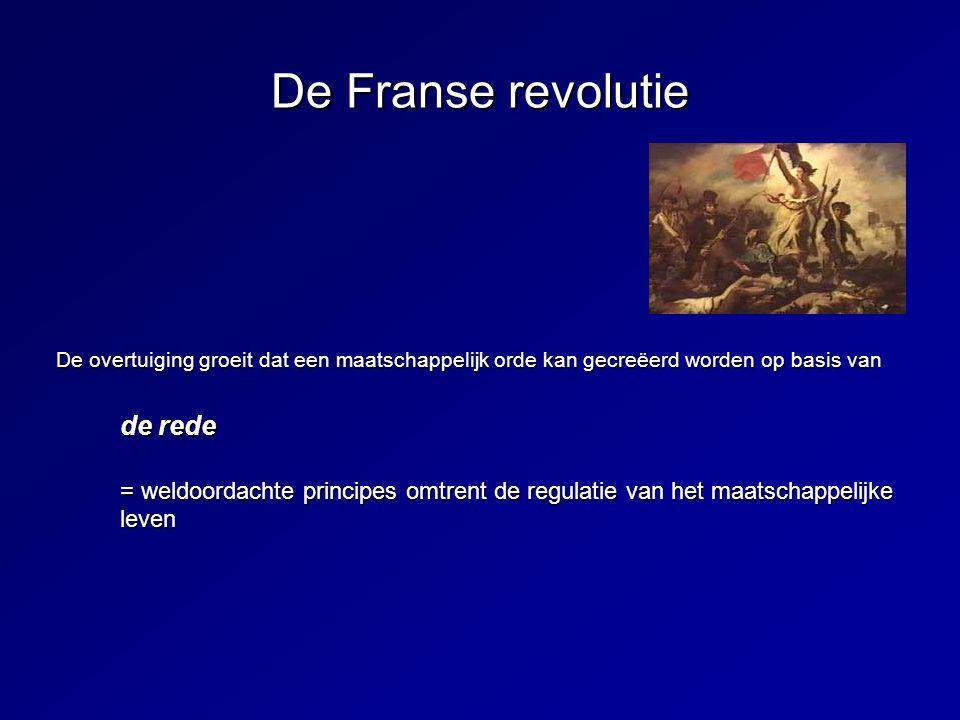 De Franse revolutie de rede