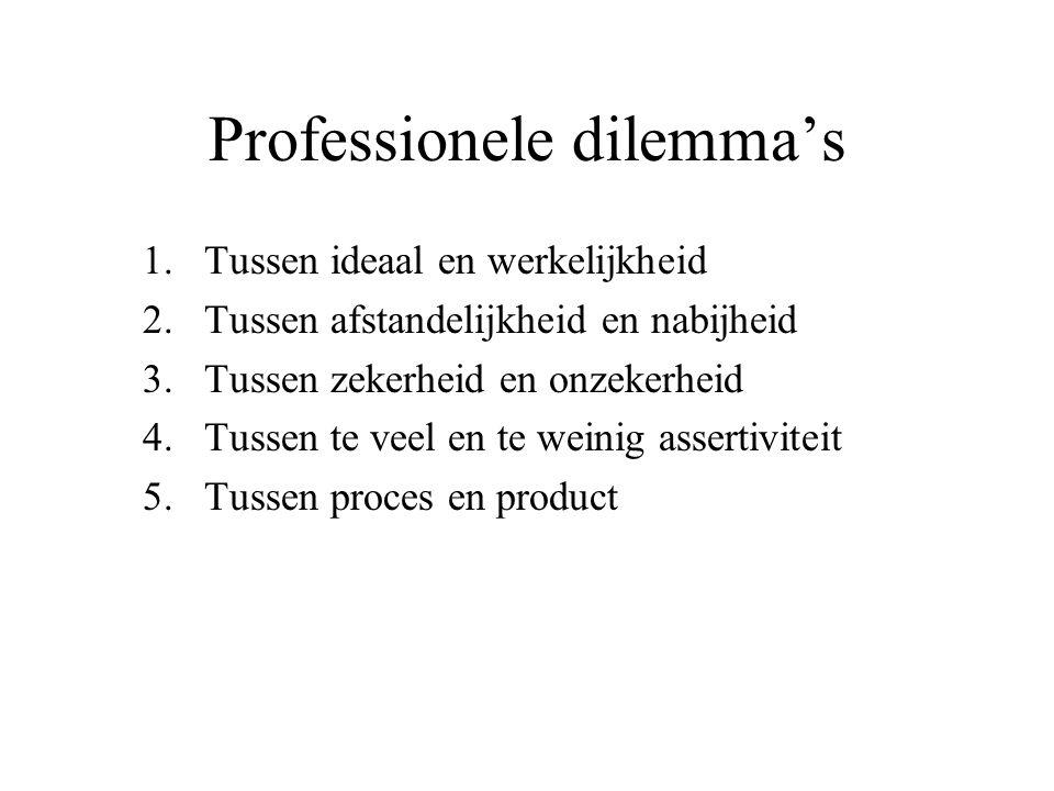 Professionele dilemma's