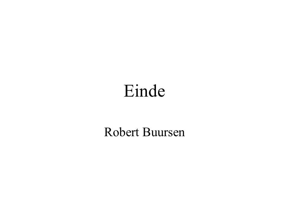 Einde Robert Buursen