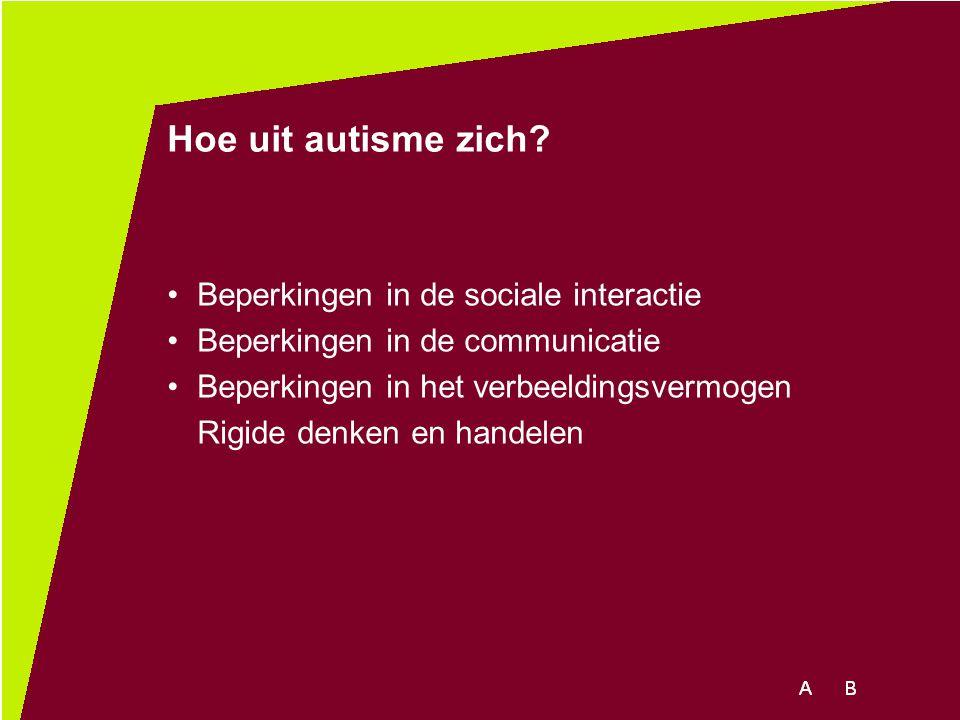 Hoe uit autisme zich Beperkingen in de sociale interactie