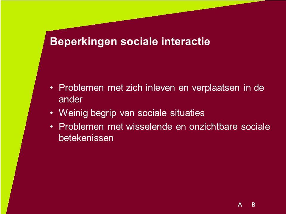 Beperkingen sociale interactie