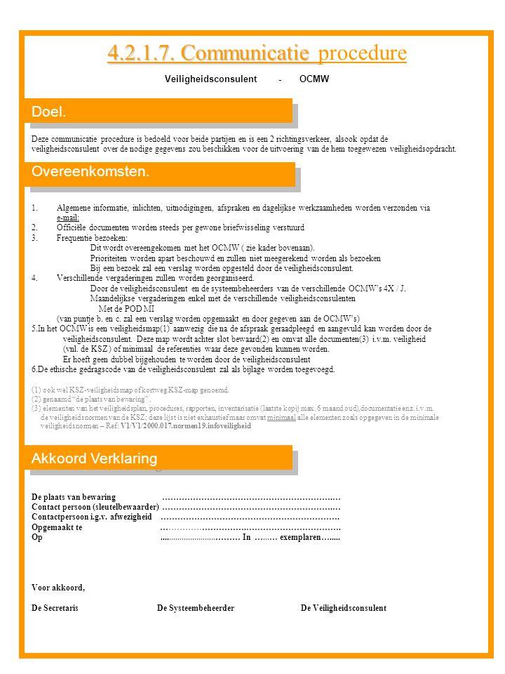 Veiligheidsconsulent - OCMW