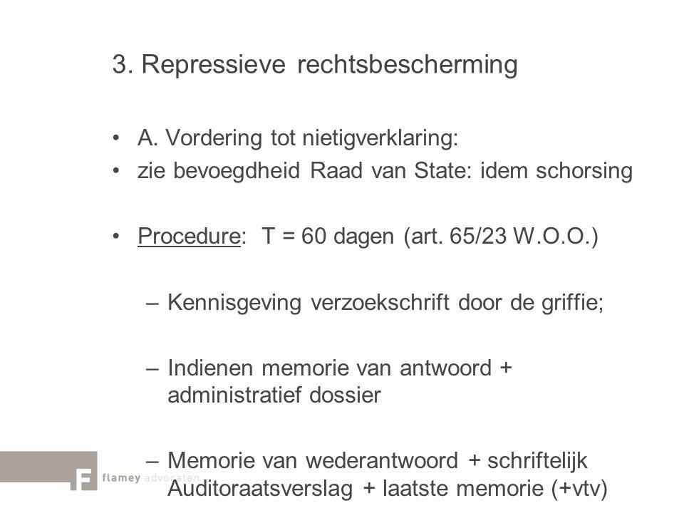 3. Repressieve rechtsbescherming