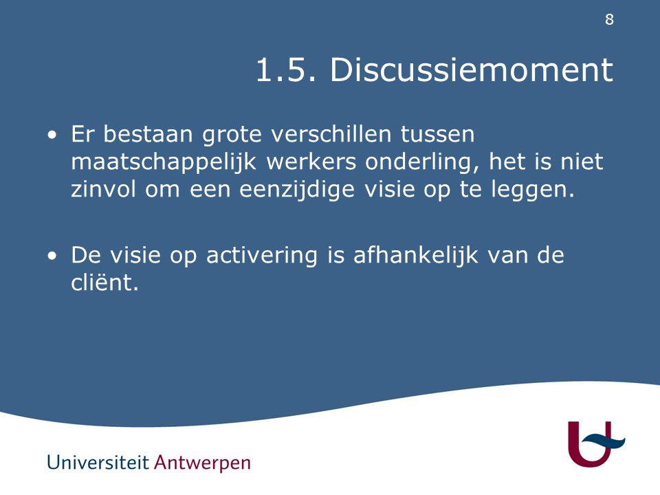 2. OCMW van Antwerpen als case