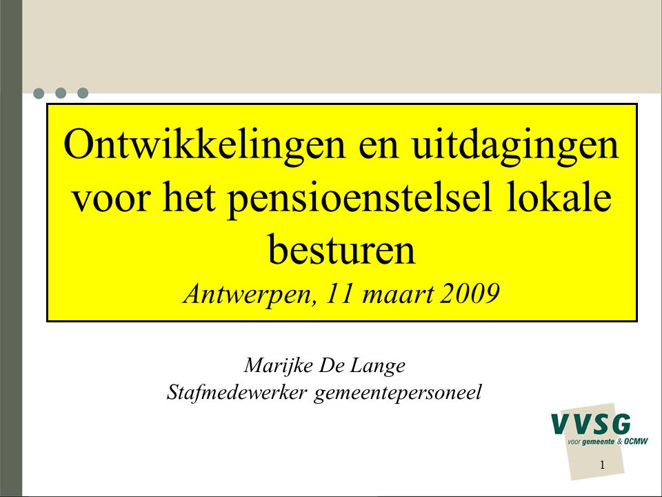 Marijke De Lange Stafmedewerker gemeentepersoneel