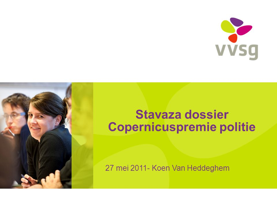 Stavaza dossier Copernicuspremie politie