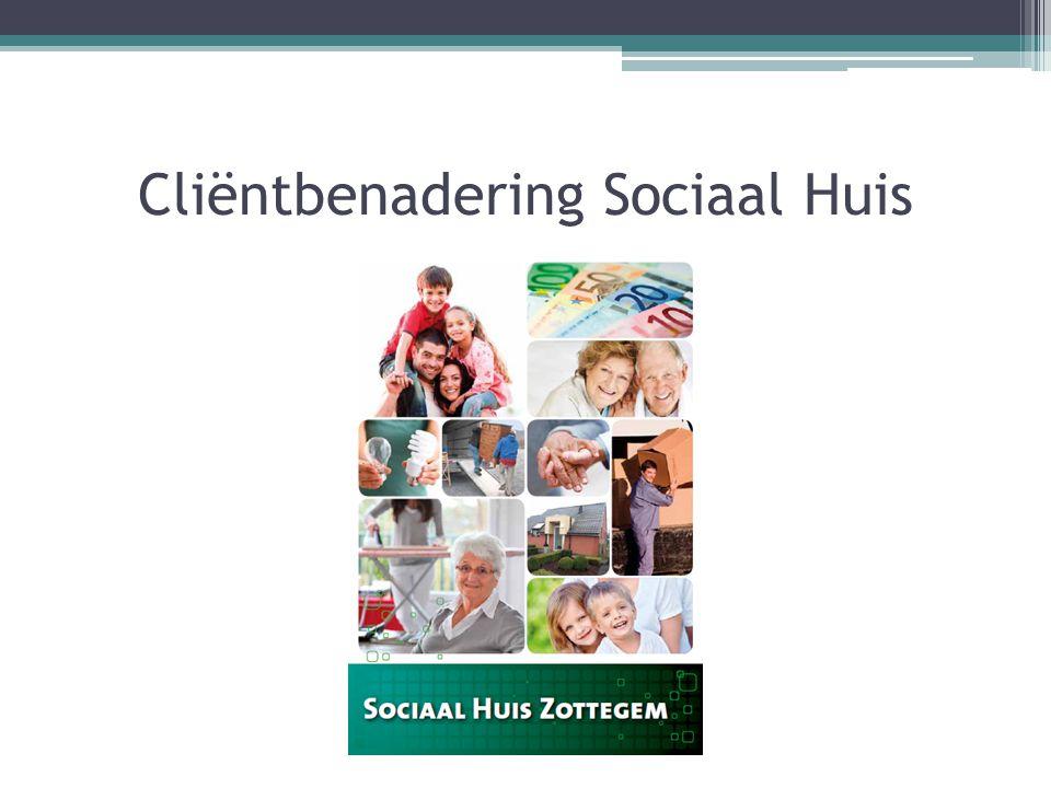 Cliëntbenadering Sociaal Huis