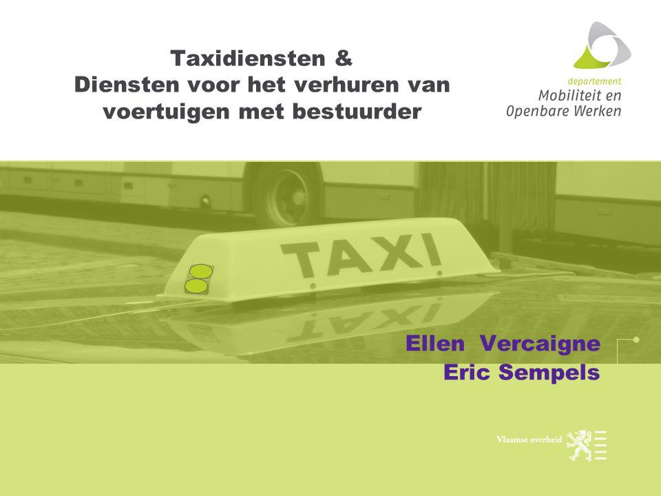 Taxidiensten & Diensten voor het verhuren van voertuigen met bestuurder