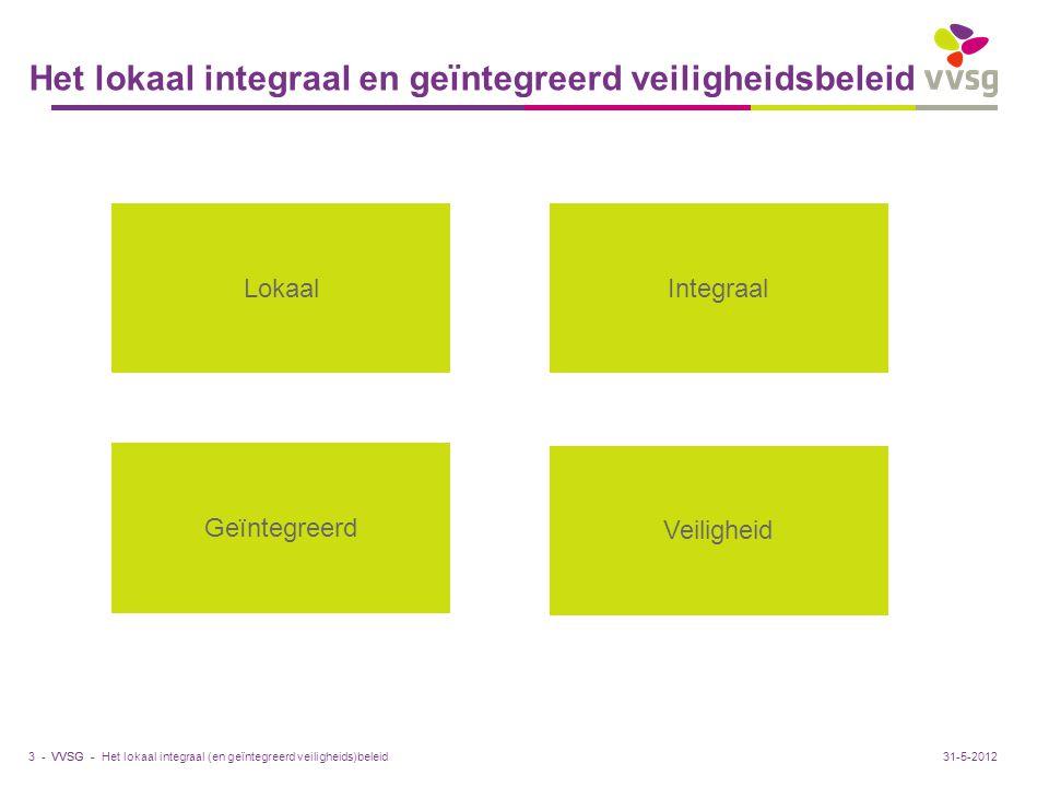 Het lokaal integraal en geïntegreerd veiligheidsbeleid