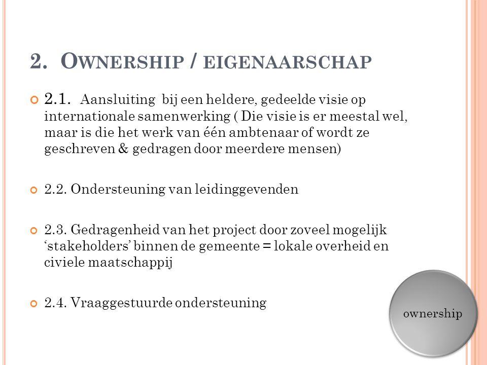 2. Ownership / eigenaarschap