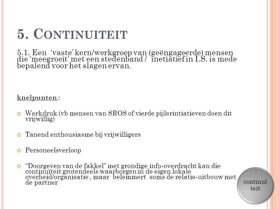 5. Continuiteit