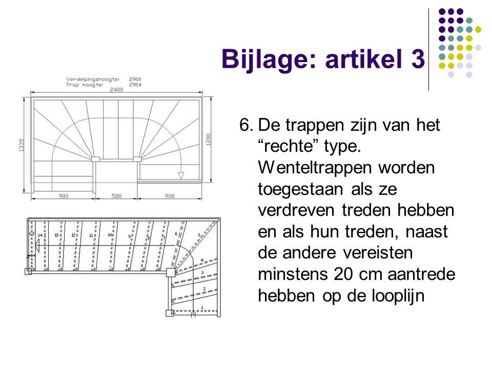 Bijlage: artikel 3
