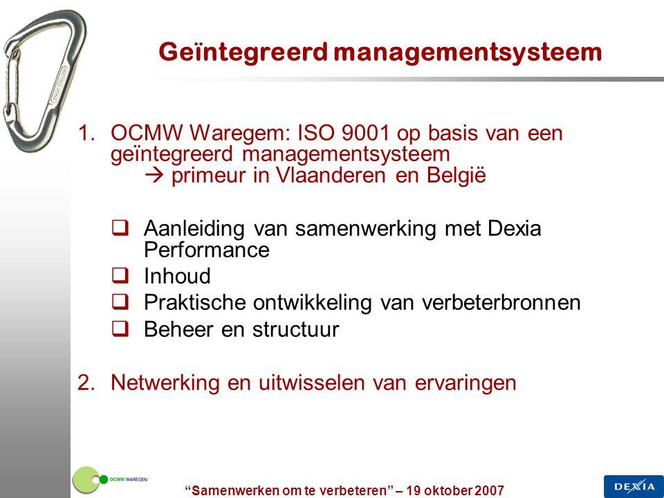 Geïntegreerd managementsysteem