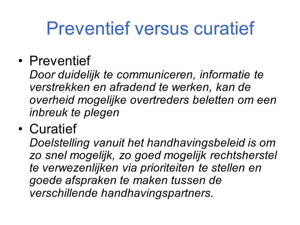 Preventief versus curatief