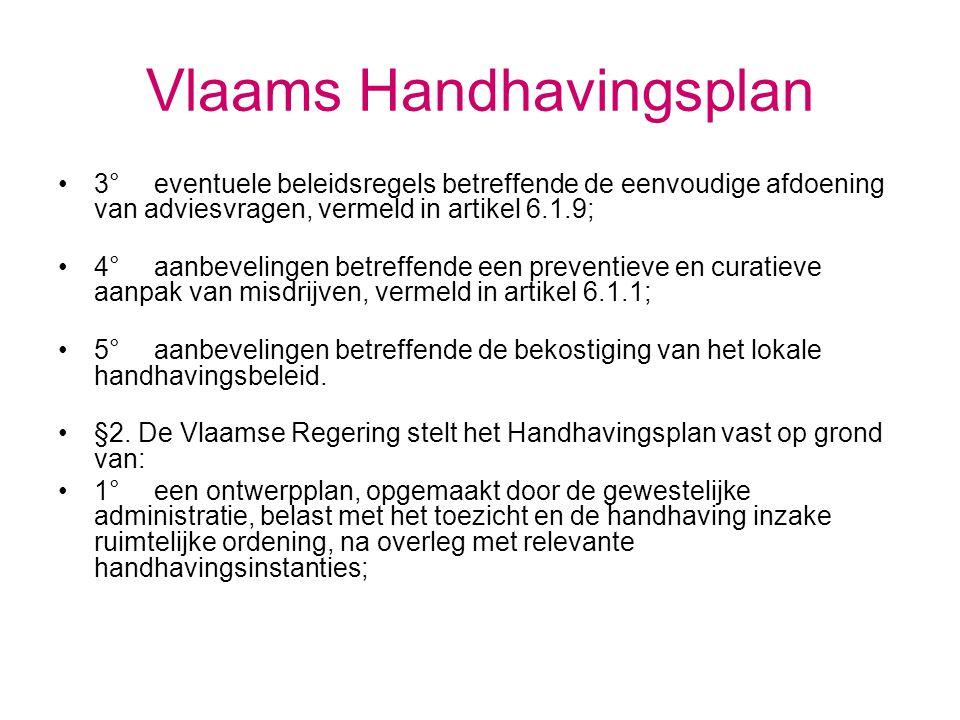 Vlaams Handhavingsplan