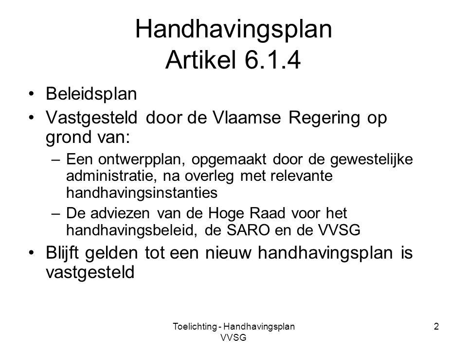 Handhavingsplan Artikel 6.1.4