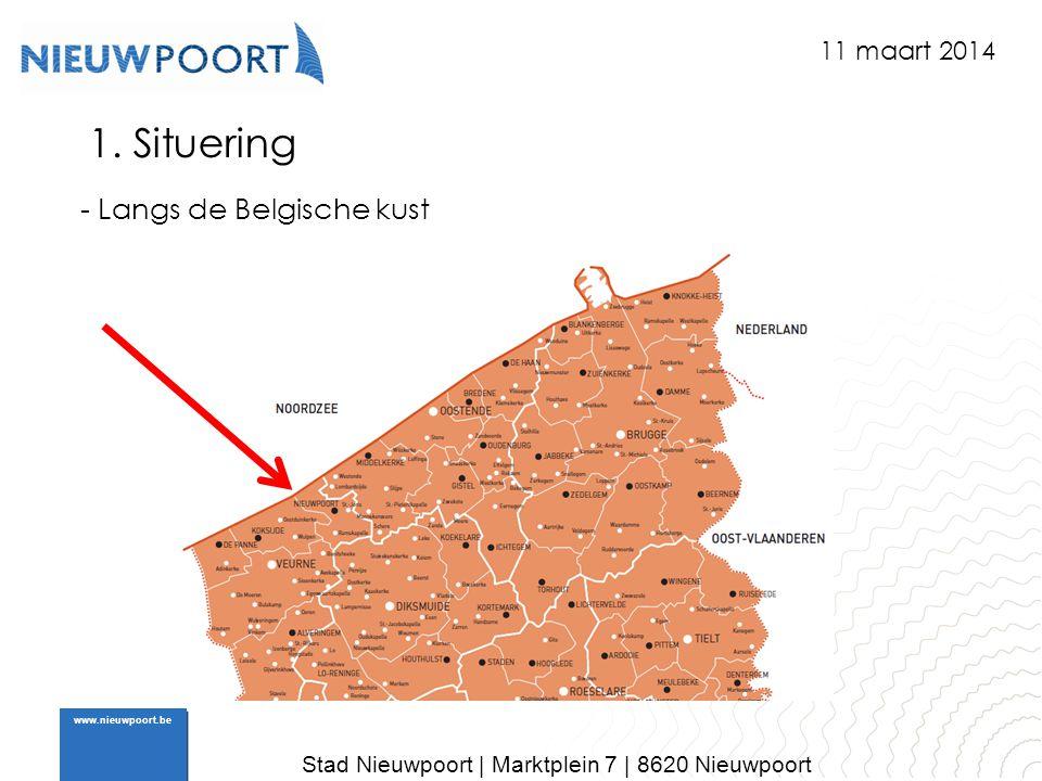 1. Situering - Langs de Belgische kust 11 maart 2014