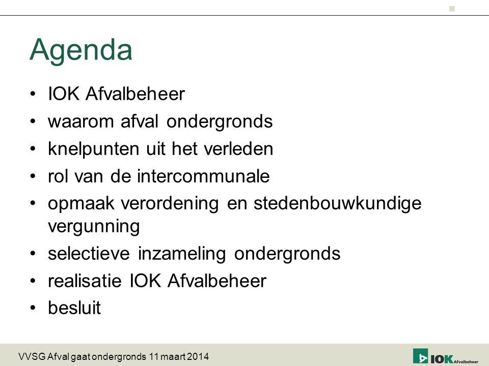Agenda IOK Afvalbeheer waarom afval ondergronds
