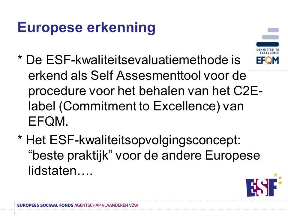 Europese erkenning