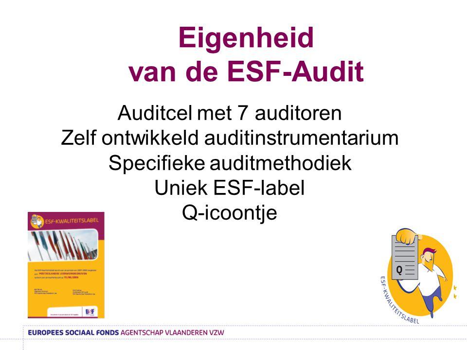 Eigenheid van de ESF-Audit