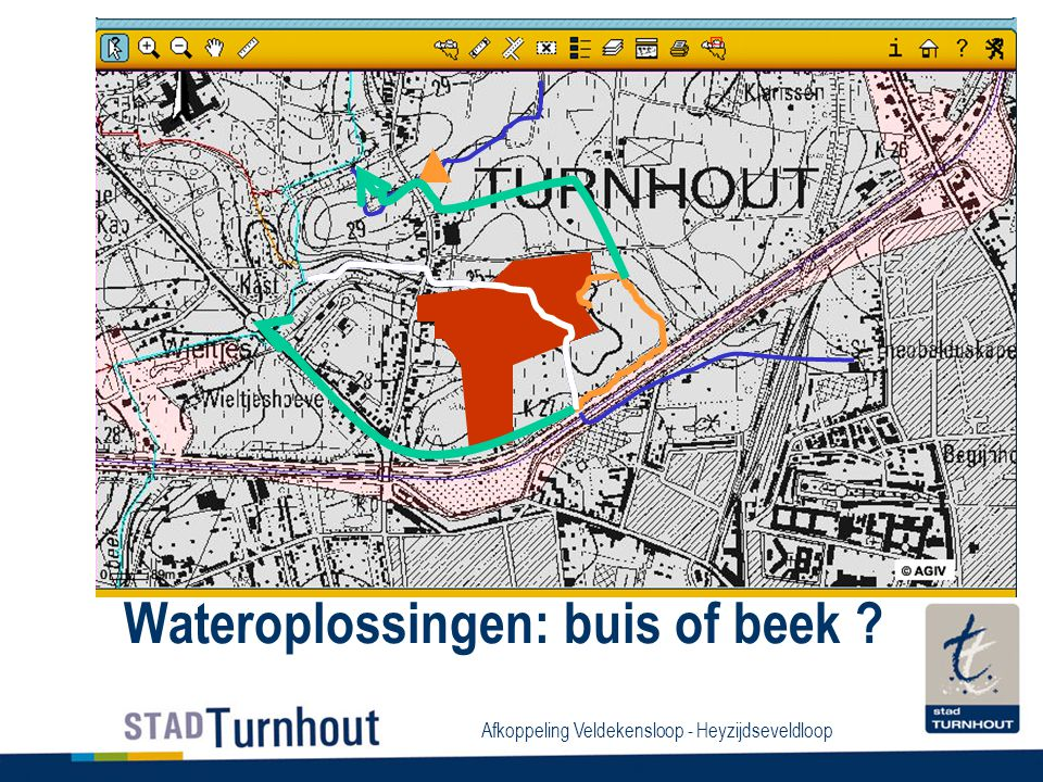 Wateroplossingen: buis of beek