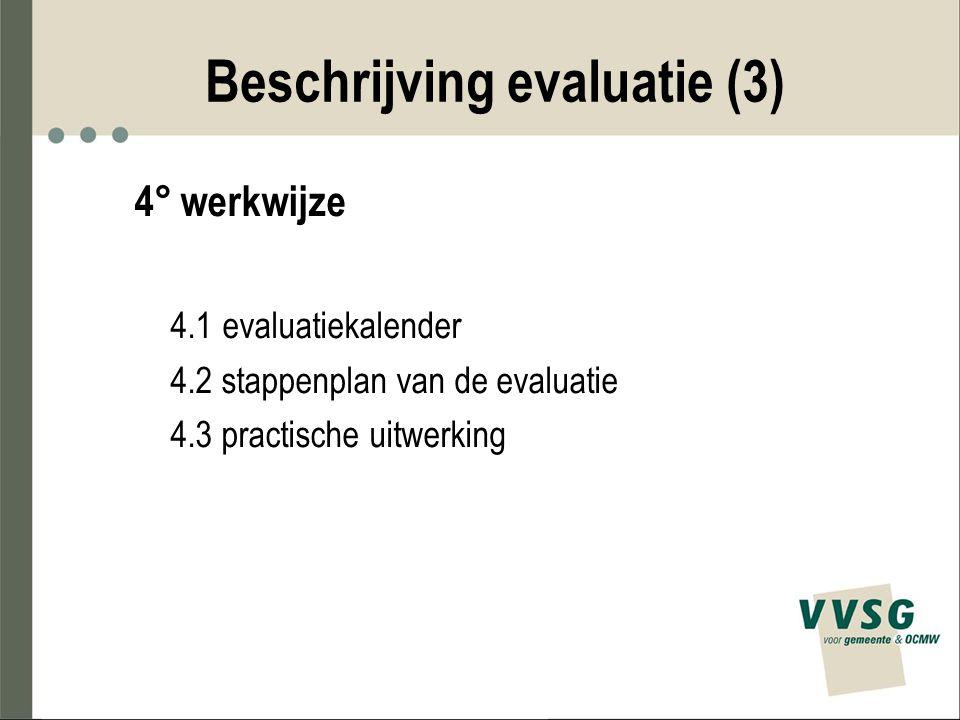 Beschrijving evaluatie (3)