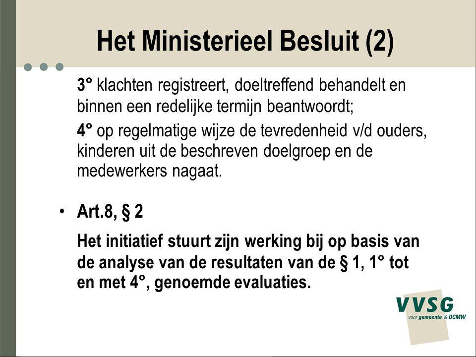 Het Ministerieel Besluit (2)