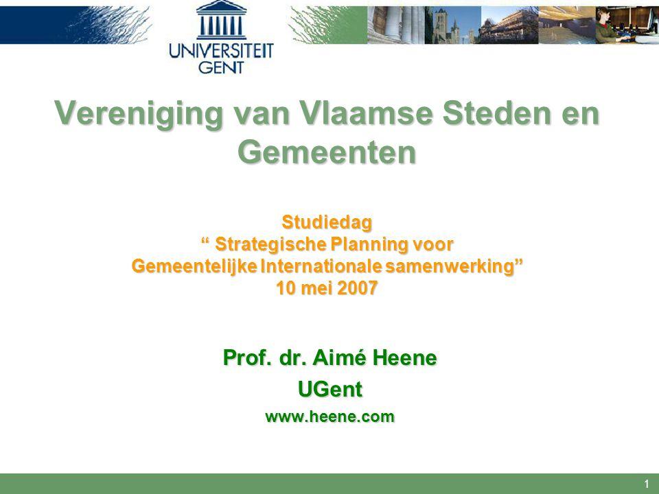 Prof. dr. Aimé Heene UGent www.heene.com