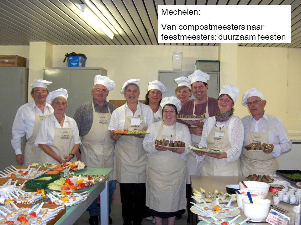 Mechelen: Van compostmeesters naar feestmeesters: duurzaam feesten