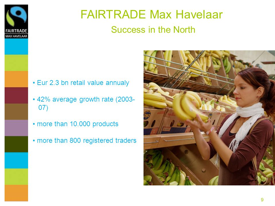 FAIRTRADE Max Havelaar Success in the North