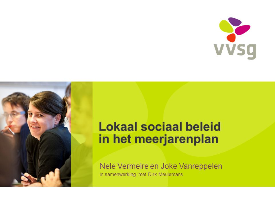 Lokaal sociaal beleid in het meerjarenplan