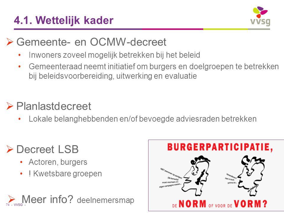 Gemeente- en OCMW-decreet