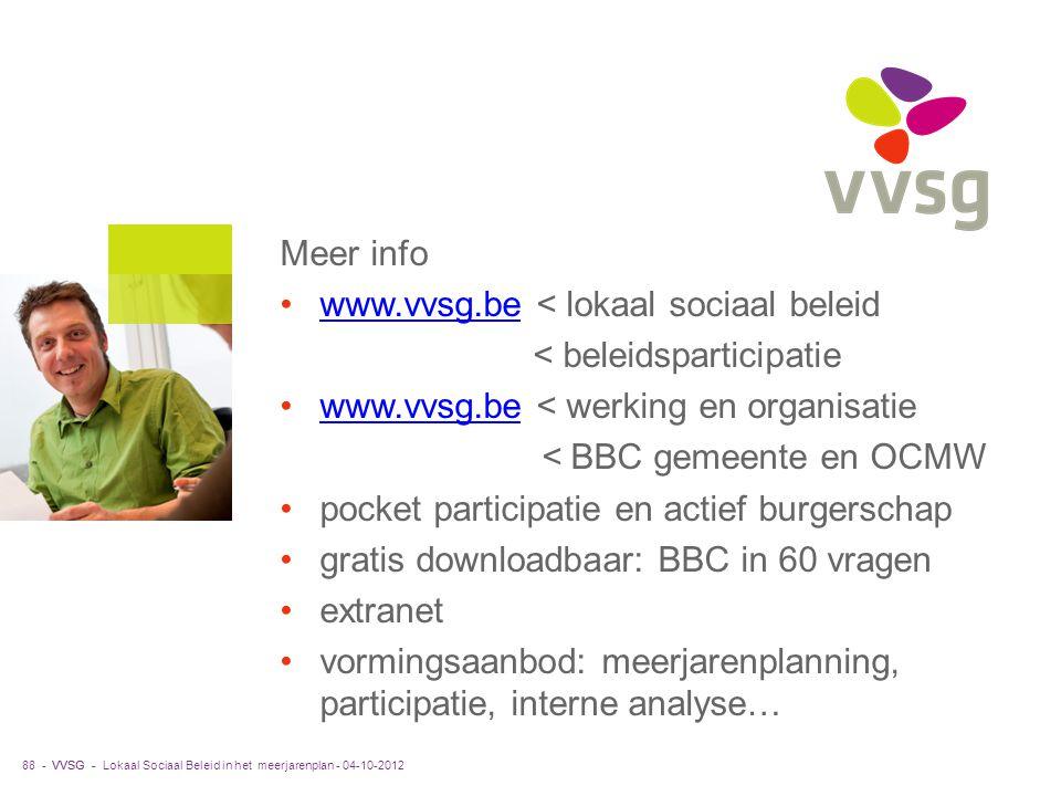 www.vvsg.be < lokaal sociaal beleid
