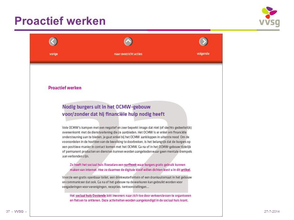 Proactief werken Sociaal huis Roeselare: gratis surfhoek