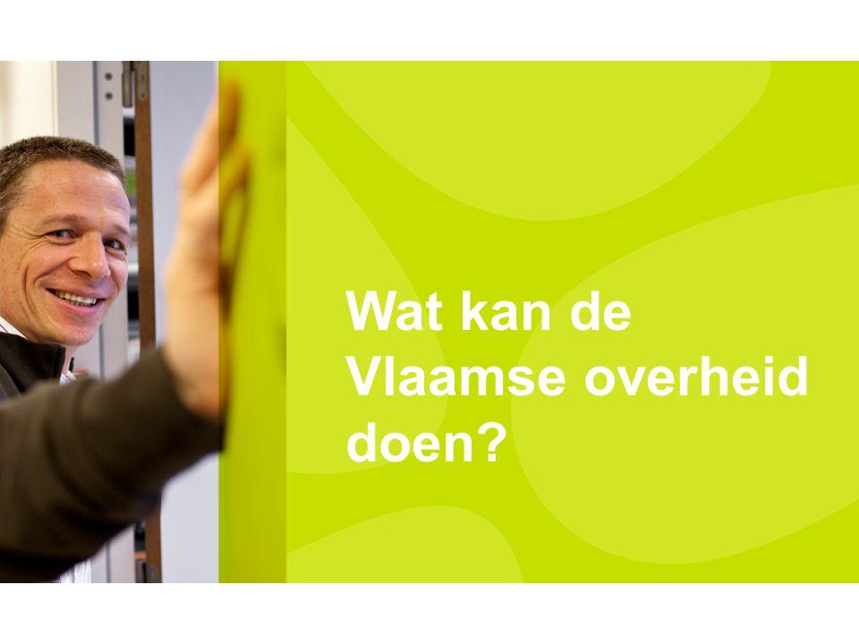 Wat kan de Vlaamse overheid doen