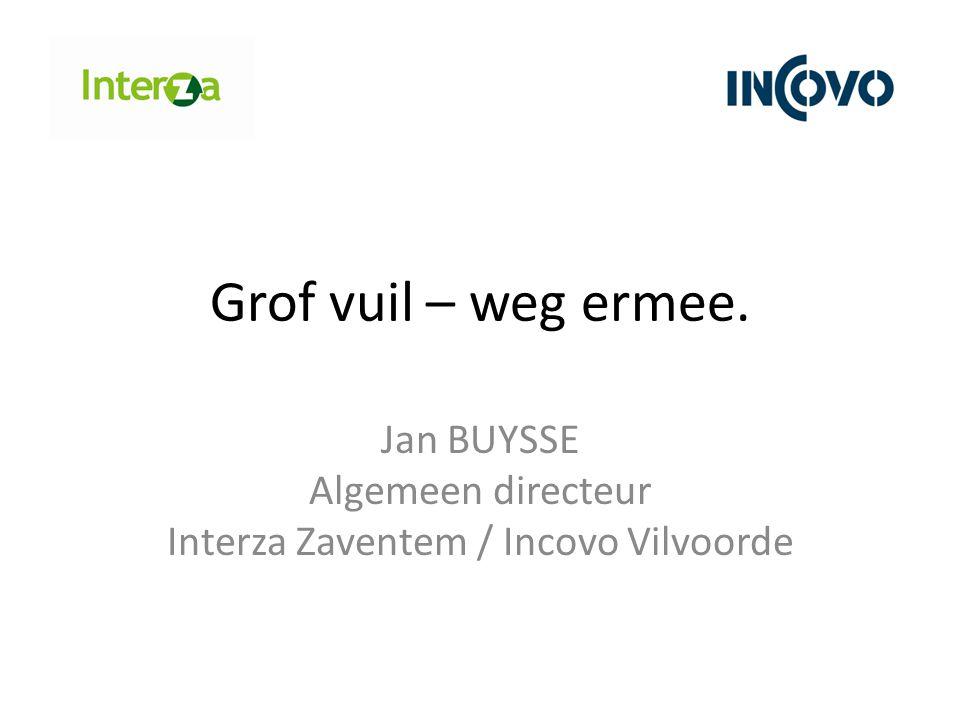 Jan BUYSSE Algemeen directeur Interza Zaventem / Incovo Vilvoorde