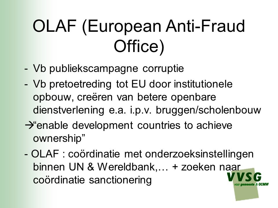 OLAF (European Anti-Fraud Office)