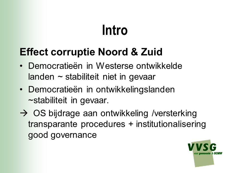 Intro Effect corruptie Noord & Zuid