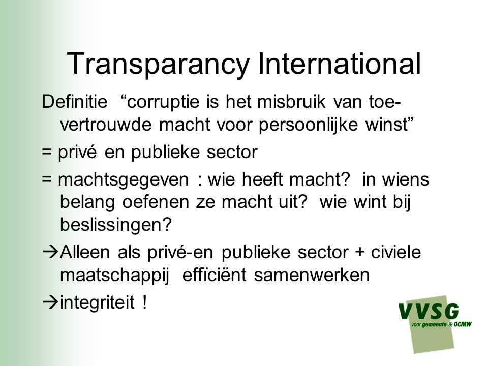 Transparancy International