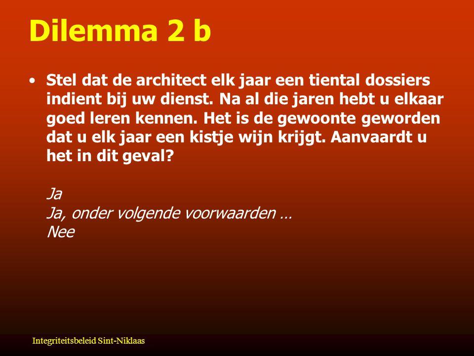 Dilemma 2 b
