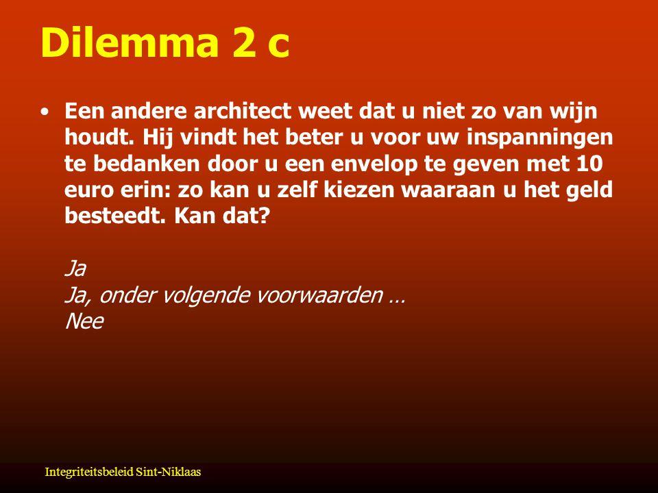 Dilemma 2 c