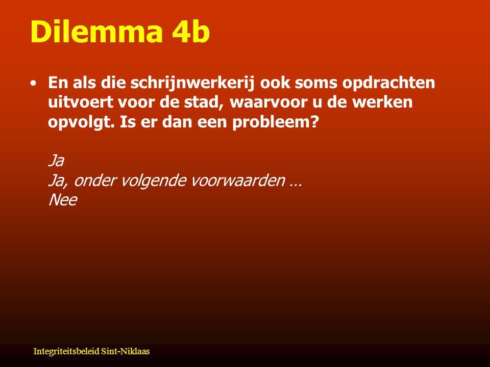Dilemma 4b