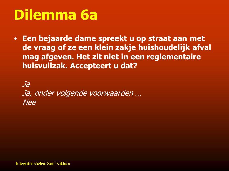 Dilemma 6a