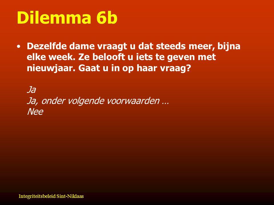 Dilemma 6b